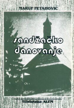 Sandzacko danovanje(prednja korica)